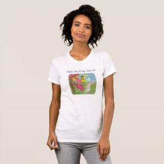 Hope Healing Church Jesus Bunny Christian T-Shirt