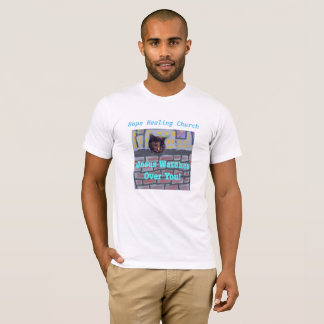 Hope Healing Church Jesus Cat Christian T-Shirt