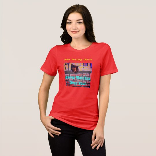 Hope Healing Church Jesus Christian Cat T-Shirt