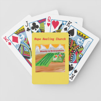 Hope Healing Church Jesus Christian Playing Cards