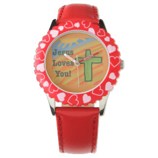 Hope Healing Church Jesus Heart Women's Watch