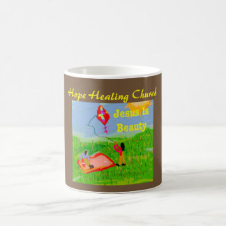 Hope Healing Church Jesus is Beauty Coffee Mug