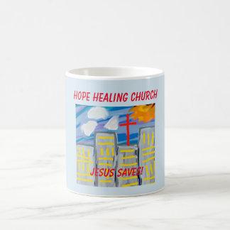 Hope Healing Church Jesus Saves Coffee Cup