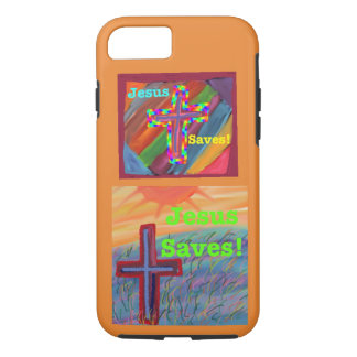 Hope Healing Church Jesus Saves iPhone Tough Case