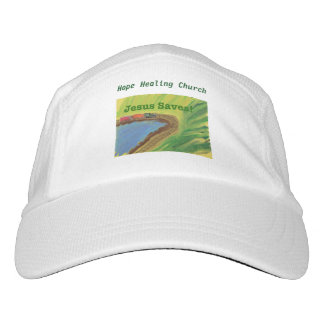 Hope Healing Church Jesus Saves Train Baseball Cap