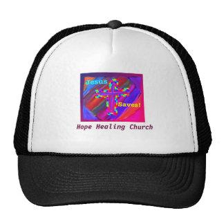 Hope Healing Church Jesus Saves Trucker Cap Trucker Hat