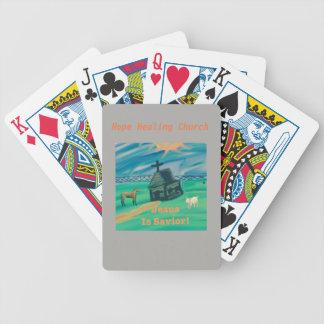 Hope Healing Church Jesus Savior Playing Cards