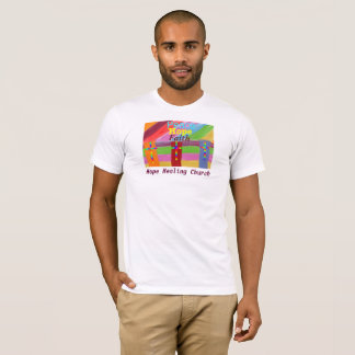 Hope Healing Church Peace Faith Christian T-Shirt