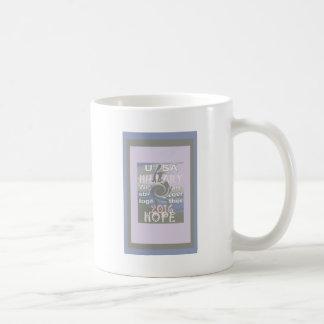 Hope  Hillary USA We Are Stronger Together Coffee Mug