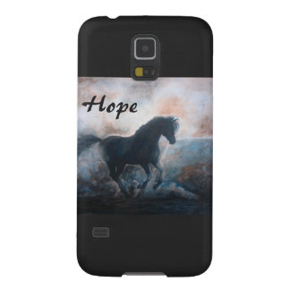 Hope Horse in the Haze Samsung Galaxy S5 Case