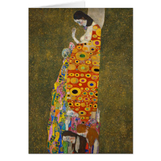 Hope II Gustav Klimt Card