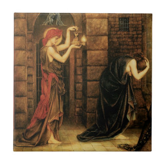 Hope in a Prison of Despair by Evelyn De Morgan Tile