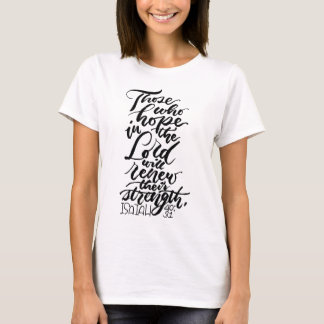 Hope in the Lord Brush Script T-Shirt