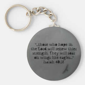 hope in the Lord Keychain