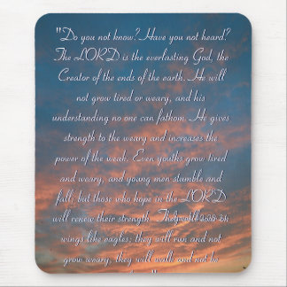 Hope - Inspirational Mouse Pad