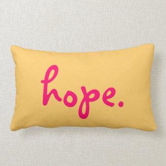 Hope Inspirational Pilow Lumbar Pillow
