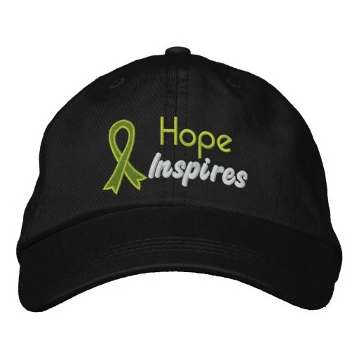 Hope Inspires - Lymphoma Embroidered Baseball Cap