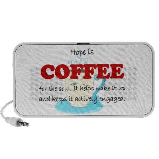 hope is coffee laptop speakers