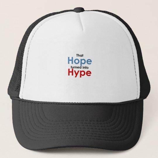 Hope is hype: Anti-Obama Trucker Hat