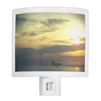 """Hope is on the Horizon"" Night Light"