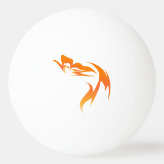 """Hope is the Flame"" Butterfly Ping Pong Ball"