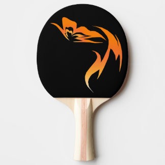"""""""Hope is the Flame"""" Butterfly Ping-Pong Paddle"""