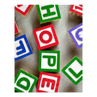 Hope Letterhead