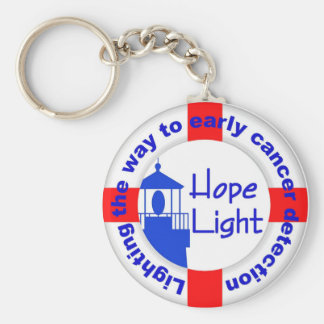 Hope Light Keychain-Lighting the Way to Early Det Keychain