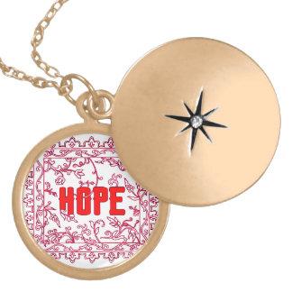 Hope Locket Necklace