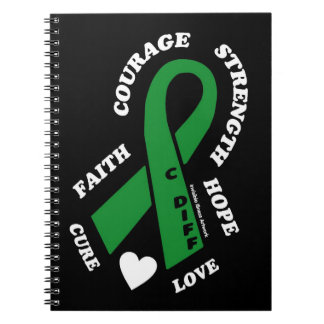 Hope Love Cure...C Diff Notebook