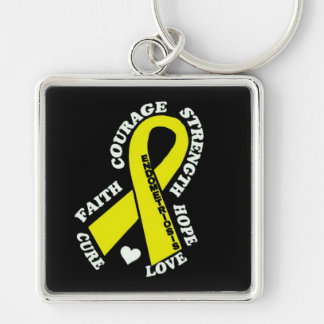 Hope Love Cure...Endometriosis Keychain