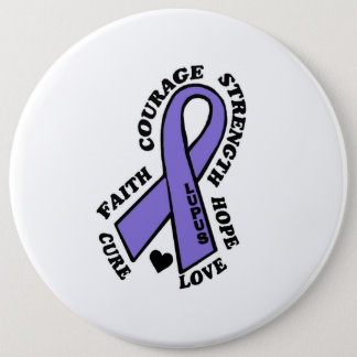Hope Love Cure...Lupus 6 Inch Round Button