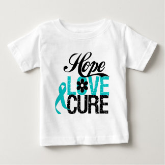 Hope Love Cure OVARIAN CANCER Gifts Tshirts