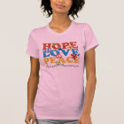 Hope, Love, Peace autism awareness T-Shirt