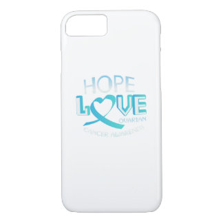 Hope Love Support Ovarian Cancer Awareness iPhone 8/7 Case