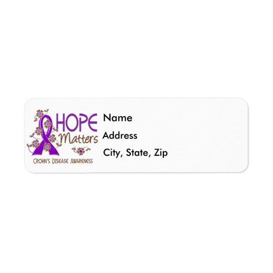 Hope Matters 3 Crohn's Disease