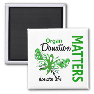 Hope Matters Butterfly Organ Donation Magnet