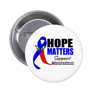 Hope Matters Pulmonary Fibrosis 2 Inch Round Button