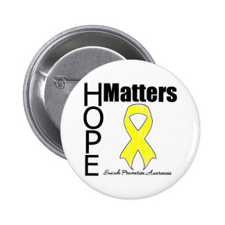 Hope Matters Suicide Prevention 2 Inch Round Button