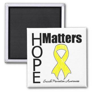 Hope Matters Suicide Prevention Fridge Magnets