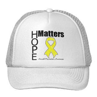 Hope Matters Suicide Prevention Hat
