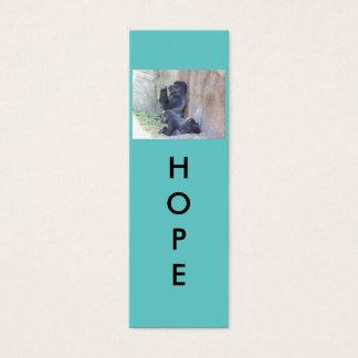 Hope Mini Bookmarks Mini Business Card