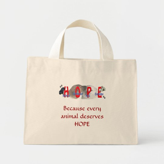HOPE MINI TOTE BAG