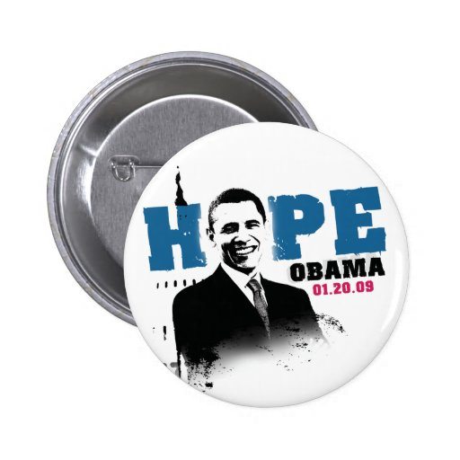 Hope - Obama Button