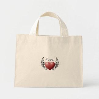 Hope on Angel Wings Tote Bag