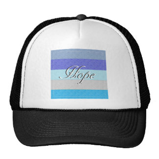 HOPE on Blue Trucker Hat