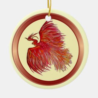 Hope Over Pain Phoenix Ornament