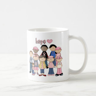 Hope Pink Ribbon Classic White Coffee Mug