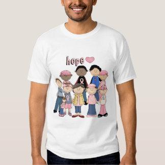 Hope Pink Ribbon T Shirt