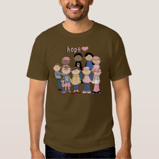 Hope Pink Ribbon T Shirts